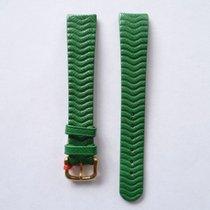 Ebel Lederband Grün 15mm mit Dornschließe