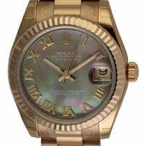 Rolex - Datejust Lady 31 : 178275 dark Mother of Pearl dial on...