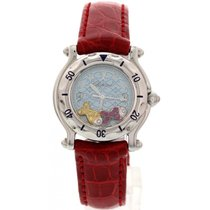 Chopard Happy Sport Fish SS Ruby & Yellow Sapphires...