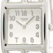 Hermès Cape Cod Steel Quartz Ladies Watch Cc1.210 (bf107599)