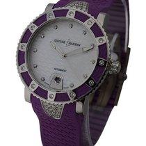 Ulysse Nardin Lady Diver with Purple Diamond Bezel