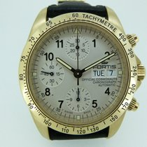 Fortis official cosmonauts chronograph gold limited edition 100
