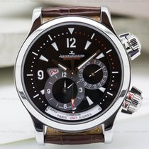 Jaeger-LeCoultre Master Compressor Geographic SS Black Dial