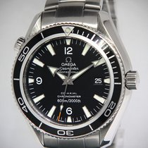 Omega Seamaster Planet Ocean Steel Black Dial/Bezel Automatic...