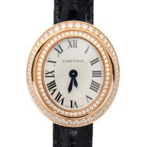 Cartier Hypnose 18 K Rose Gold With Diamonds Silvery White...