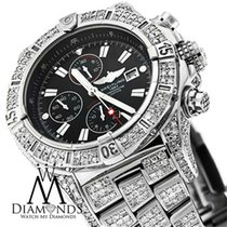 Breitling Original Breitling Super Avenger A13370 Black Sticks...