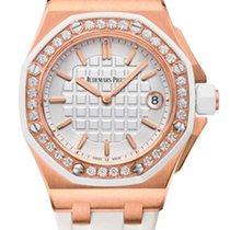 Audemars Piguet Royal Oak Offshore Quartz 18K Pink Gold &...