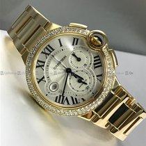 Cartier - Baloon Bleu Customized Diamond Bezel Y/G W6920008