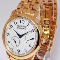 F.P.Journe Souverain 18k Rose Gold Mens Bracelet Watch & Box