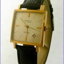 Rodania Vintage 1594B Automatic Date 29X29mm ETA2522 20M Gold...