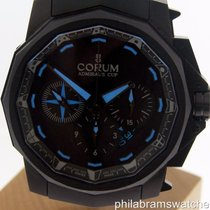 Corum Admiral's Cup Black Flag Limited Edition PVD Blue