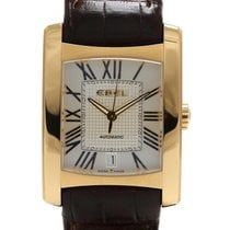 Ebel Brasilia 18K Yellow Gold Automatic Mens Watch