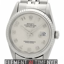 Rolex Datejust 36mm Stainless Steel Silver Jubilee Dial  Ref....