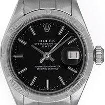 Rolex Ladies Date Stainless Steel Watch 6919