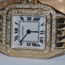 Cartier Panther 18K Solid Gold Diamonds
