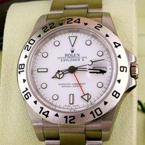 Rolex 16570 Explorer II Sammlerstück / Neu/ Randoms./Kal. 3186