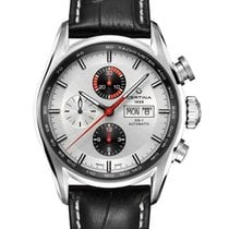 Certina DS1 Chronograph Farbe Silber Schwarz