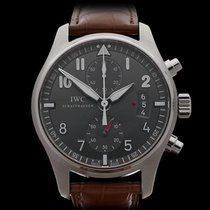 IWC Pilot's Chronograph Spitfire Chronograph Stainless...