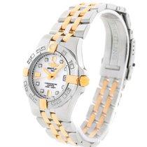 Breitling Galactic 30 Ladies Steel 18k Yellow Gold Diamond...