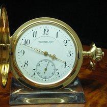 Union Horlogere Chronometer 14kt 585 Gold Savonette Taschenuhr...