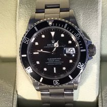 Rolex Submariner Date SS 16610 R-Serial from 1987 with Rolex Box