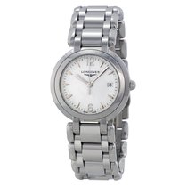 Longines Primaluna White Dial Stainless Steel Ladies Watch...
