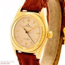 Rolex Vintage Bubble Back Automatic Ref-3131 14k Yellow Gold...