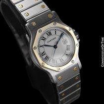 Cartier Santos Octagon Mens Midsize Watch, Automatic - SS...