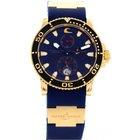 Ulysse Nardin Limited Edition  Blue Surf 18K Rose Gold 266-36