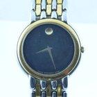 Movado Museum Watch Uhr Rar Stahl/stahl Top 32mm Quartz Mit...