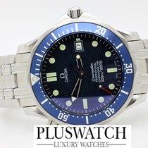 Omega Seamaster 300 Blue Bezel 41mm 2004 2848