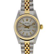 Rolex 76193 Two Tone Oyster Perpetual Ladies Watch