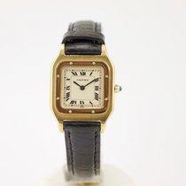 Cartier 18K SANTOS DUMONT mit Box und Papieren
