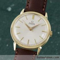 Omega 14k (0,585) Gold Herrenuhr Automatik Vintage 1956 Datum