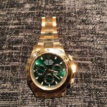 Rolex 116508 Daytona  40mm Green, Yellow Gold New