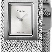 ck Calvin Klein Mesh K5L13136 Damenarmbanduhr Design Highlight