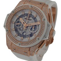 Hublot King Power Big Bang Unico Rose Gold with Diamond Bezel