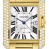 Cartier Tank Anglaise LARGE 18kt Yellow Gold AUTHENTIC wt100007