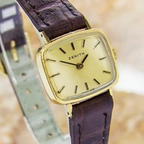 Zenith Swiss Made Ladies Rare Mechanical Vintage Gold Plated...