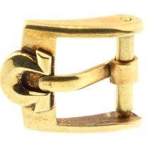 Omega Dornschliesse Buckle Swiss Plaqueg Stahl Vergoldet 10mm O24