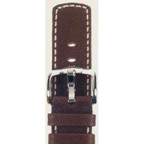 Hirsch Uhrenarmband Mariner Kalbsleder braun L 14502110-2-18 18mm
