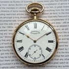 Vacheron Constantin A Large 18 K Gold Pocket Watch 57 mm