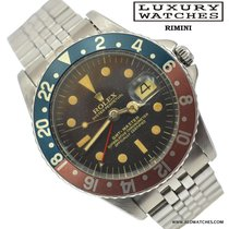 Rolex GMT Master 1675 brown dial SWISS Gilt Radial Underline...