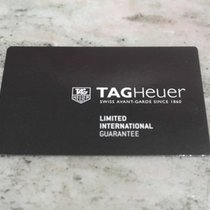 TAG Heuer vintage warranty card newoldstock