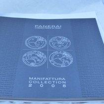 Panerai Katalog Catalogue 2008 Große Version