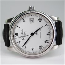 Glashütte Original Senator Stahl mit Datum Automatic