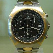 Omega vintage polaris seamaster chronograph gold and steel