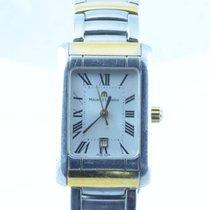 Maurice Lacroix Calypso Damen Uhr Stahl/stahl 25mm Carree Rar