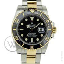 Rolex Submariner Date 116613LN Gold/Steel New-Full Set