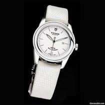 Tudor Glamour Date 31 MM White Case Steel